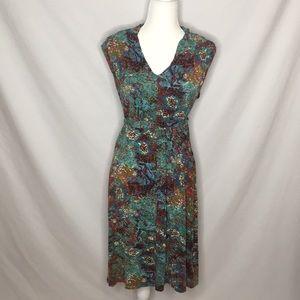 Esprit Watercolor Print Dress
